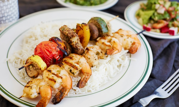 Tannourine Restaurant - Beresford Park: Mediterranean Dinner for 2 or 4 with Hot and Cold Mezza and Baklava at Tannourine Restaurant (Up to 42% Off)