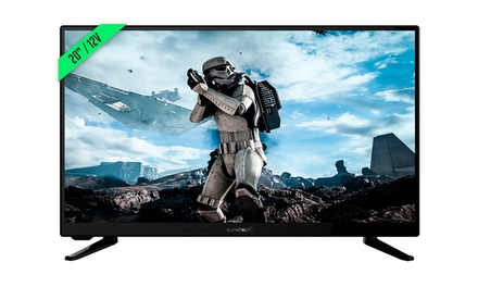 TV Sunstech LED 20'' HD con adaptador de 12V y función USB (envío gratuito)