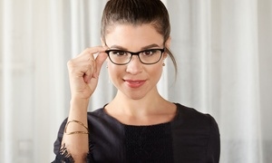 C$80 for Eye Exam, Contact Lenses, and Prescription Glasses at Image Optometry (Up to C$427.88 Value)