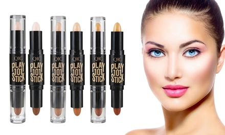 One or Two Double Headed Concealer Highlighter Makeup Pens