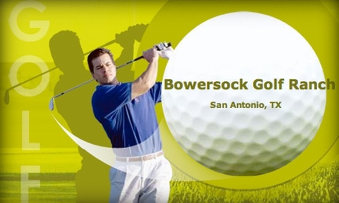 Northeast Golf Center - Northeast San Antonio: $12 for Three Large Buckets of Driving Range Golf Balls at Northeast Golf Center ($30 Value)
