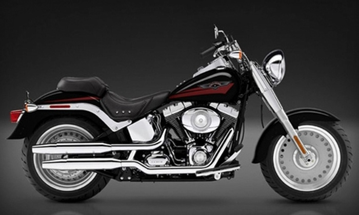 Eagle Rider - New Orleans: $85 for One-Day Harley Davidson Rental (Up to $180.84 Value) or $45 for One-Day Vespa Rental (Up to $111.85 Value) from Eagle Rider