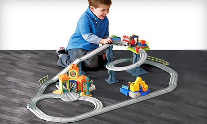 $35 for an Interactive Train Set & $35 for an Interactive Train Set | Groupon Goods