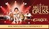 Cirque Arlette Gruss - Plusieurs adresses: 1 place pour adulte ou enfant, catégorie au choix, avec visite de la ménagerie dès 13 € à Amiens et Villeneuve-D'Asq
