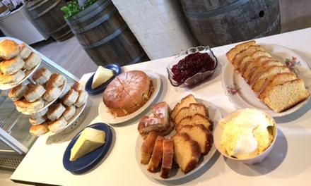 Vineyard Tour and Cream Tea