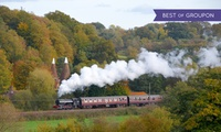 Spa Valley Railway: Return Ticket from Tunbridge Wells West to Groombridge or Eridge for Two or a Family (Up to 61% Off)