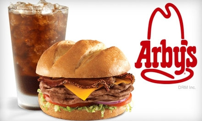 Arby's - Multiple Locations: $5 for $10 Worth of Fast-Food Fare and Drinks at Arby's