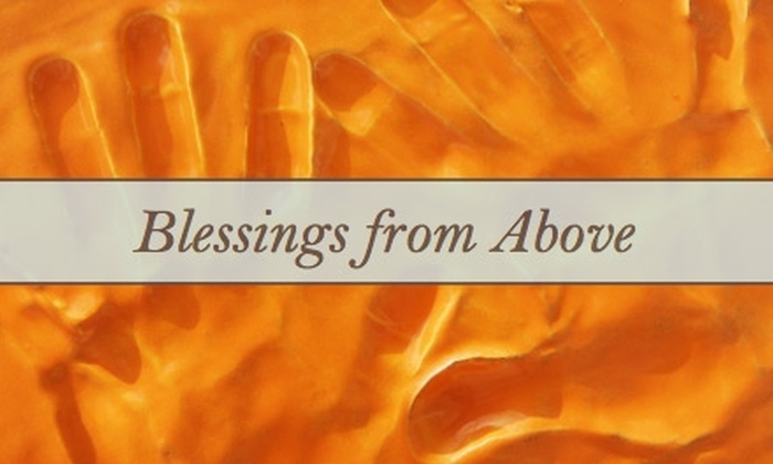 Blessings from Above - Sedalia: $15 for $35 Worth of Custom Ceramic Hand, Foot, or Paw Prints from Blessings from Above