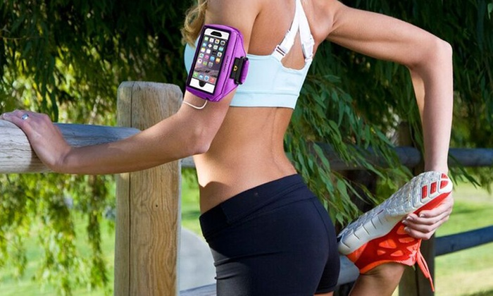 Gear Beast Case Compatible Armband for Apple iPhones, Samsung Galaxy and Note Smartphones