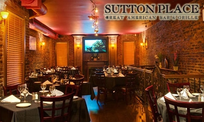 Sutton Place - Long Beach: $15 for $30 Worth of All-American Fare and Drinks at Sutton Place in Long Beach