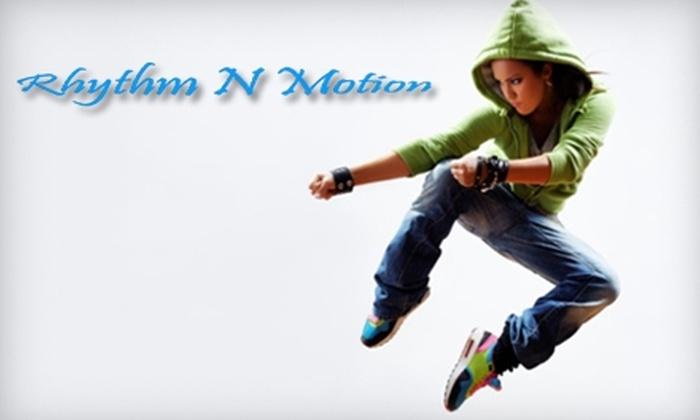 Rhythm n Motion - Hoover: $10 for Your Choice of Two Burlesque Aerobics, Hip-Hop, or Ballroom Dance Classes at Rhythm N Motion ($20 value)