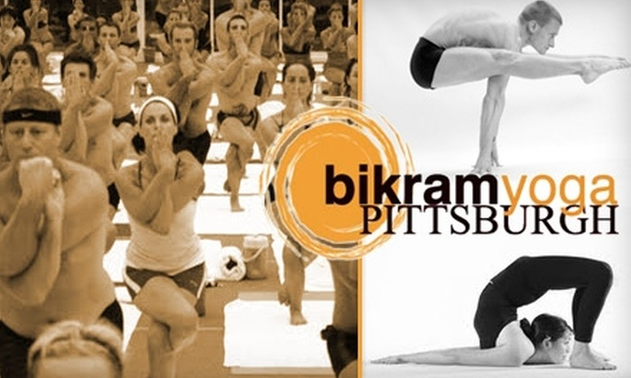 Bikram Yoga Pittsburgh - Strip District: $40 for 10 Classes Plus Free Mat and Towel Rental at Bikram Yoga Pittsburgh ($120 Value)