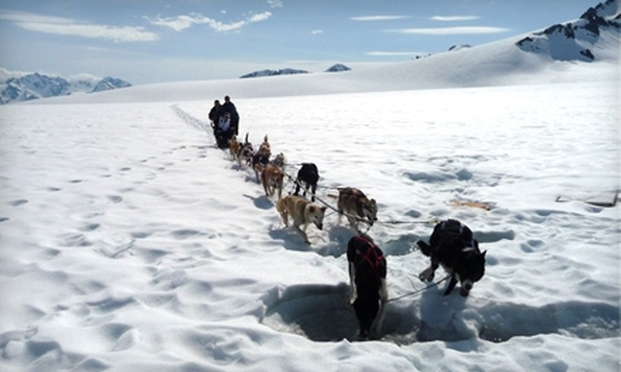 Seward Helicopter Tours - Seward: $209 for a Helicopter and Dog-Sled Tour on Godwin Glacier from Seward Helicopter Tours ($419 Value)