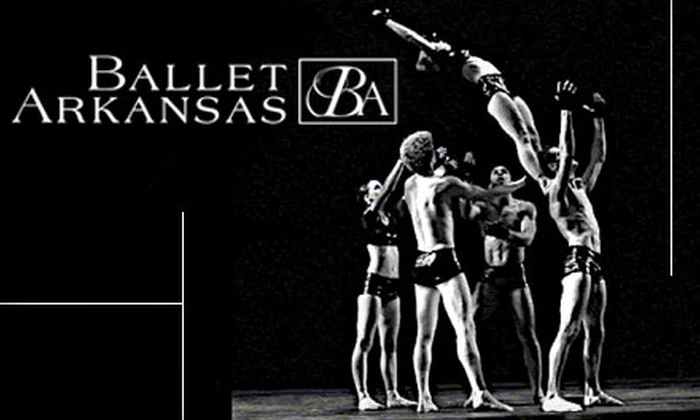 "Ballet Arkansas - Little Rock: One Ticket to ""Arts In Concert"" by Ballet Arkansas. Choose from Four Options."