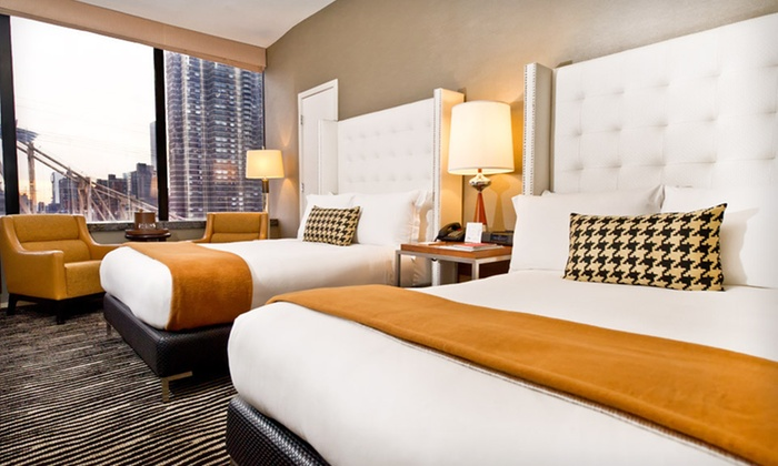 Bentley Hotel - Upper East Side: One-Night Stay for Two at the Bentley Hotel in New York City