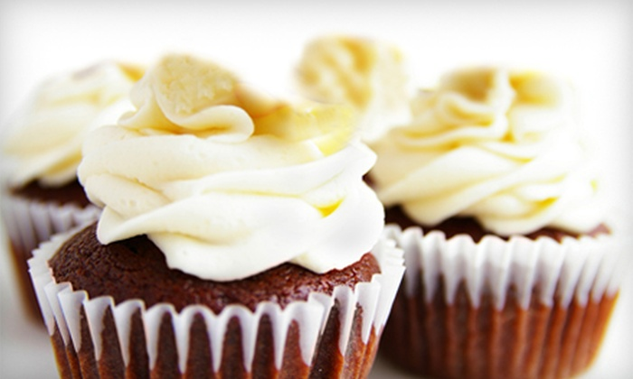 Tricias on the Square - Springfield: $12 for One-Dozen Cake Bites or Cupcakes from Tricia's on the Square in Springfield ($25 Value)