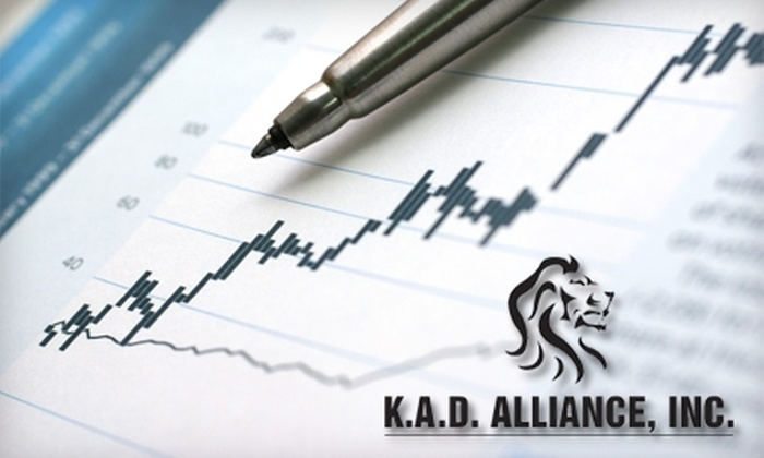 K.A.D. Alliance - San Ramon: $50 for $100 Worth of Tax Services at K.A.D. Alliance in San Ramon