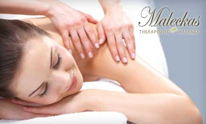 Maleckas Therapeutic Massage - Forest Park: $25 for a One-Hour Massage at Maleckas Therapeutic Massage