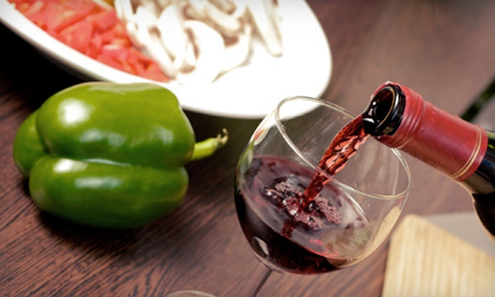 Kitchen Concepts & Wandering Chef - South Peoria: Cooking Class and Wine Tasting for Two, Four, or Eight from Kitchen Concepts & Wandering Chef Productions (Half Off)
