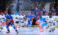 2 ou 4 places et hot dogs pour LHC Les Lions VS Strasbourg, le mardi 19 décembre 2017 dès 19€ à la patinoire Charlemagne