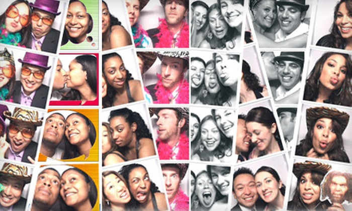 Poshbooth - Downtown - Penn Quarter - Chinatown: $900 for a Four-Hour Photo-Booth Rental and Guestbook from Poshbooth ($1,950 Value)