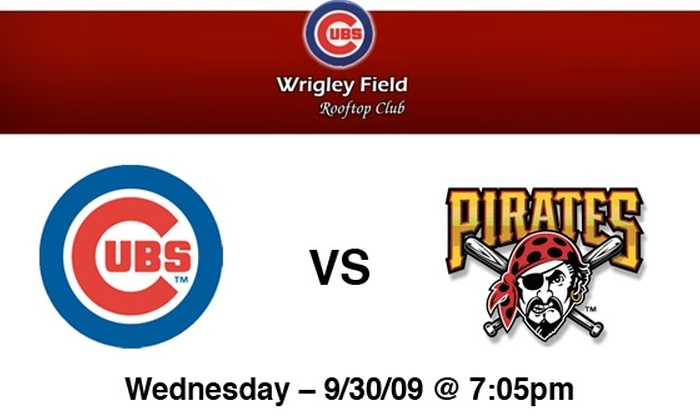 Wrigley Field Rooftop Club - Lakeview: Cubs Rooftop Tickets: All You Can Eat & Drink. Buy Here for Cubs vs Pirates on 9/30 at Wrigley Field Rooftop Club. More Games Below.