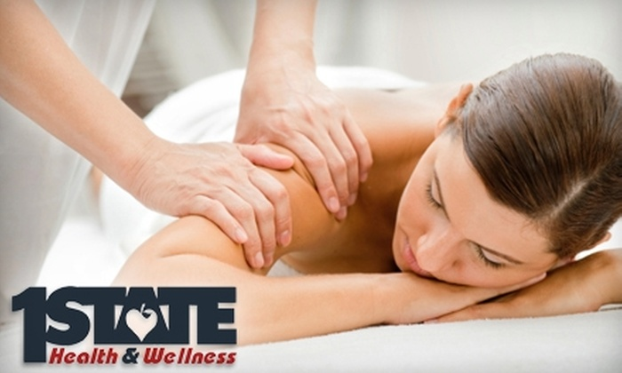 First State Health and Wellness - Multiple Locations: $45 for a One-Hour Massage at First State Health & Wellness ($90 Value)