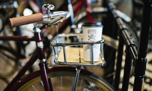 Green River Cyclery and Busted Bike Cafe: Coffee Drinks and Whole Beans at Green River Cyclery and Busted Bike Cafe (50% Off)