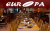 Half Off at Restaurant Europa