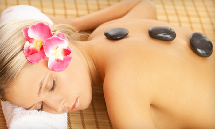 The Spa at Cibolo Canyons - Far North Central: Massage, Scalp and Foot Treatments, and Fitness-Center Pass for One or Two at The Spa at Cibolo Canyons (Up to 63% Off)