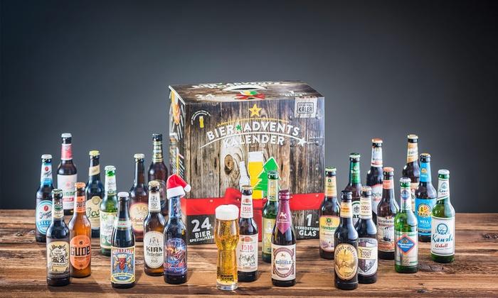 Kalea GmbH: Calendriers de l'Avent de 24 bouteilles de bière KALEA®, livraison offerte