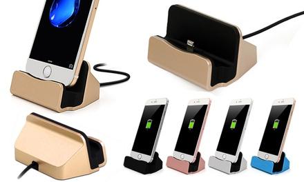 1 o 2 estaciones de acoplamiento compatible con iPhones 5 a 6S Plus