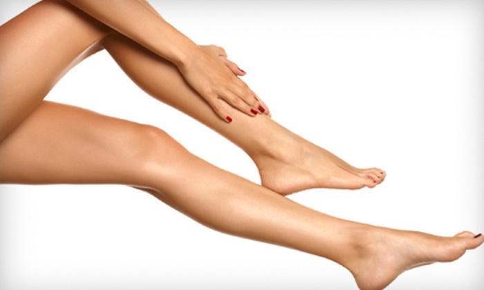 Aura Skin Spa - Financial District: Three or Six Laser Hair-Removal Treatments at Aura Skin Spa