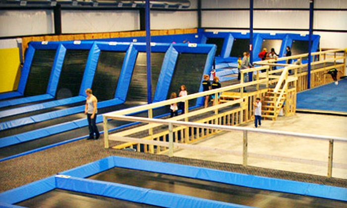Spring Loaded Trampoline Park - Spring Loaded Indoor Trampoline Park: All-Day Jumping Passes for Two or Four at Spring Loaded Trampoline Park in New Braunfels (Up to 56% Off)