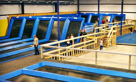 2 All-Day Jumping Passes (a $40 value) - Spring Loaded Trampoline Park in New Braunfels