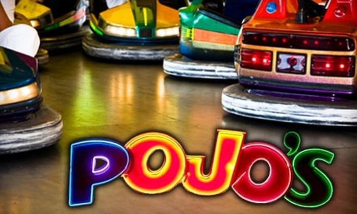 Pojos Family Fun Center - West Bench: $10 for 40 Tokens and 10 Ride Tickets at Pojos Family Fun Center ($30 Value)