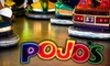 Pojos Family Fun Center - West Bench: $10 for 40 Tokens and 10 Ride Tickets at Pojos Family Fun Center ($30 Value)