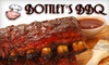 $8 for Fare at Bottley's Bar-B-Que