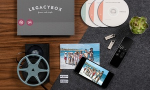 Up to 60% Off Movie and Photo Digitizing Kits from Legacybox