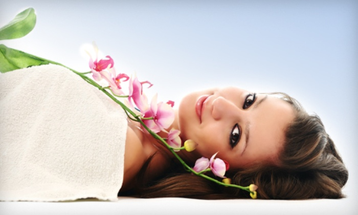 Pearl Beauty Spa - New York City: 60-Minute Facial or 110-Minute Spa Package with Facial, Massage, and Eyebrow Shaping at Pearl Beauty Spa (Up to 72% Off)