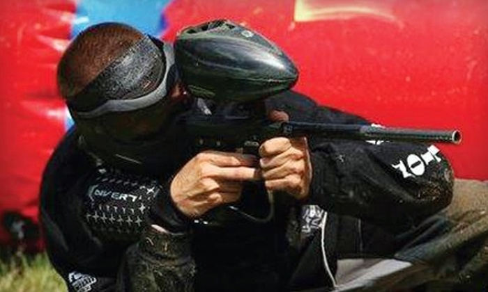 Fox Brother's Paintball Park - Virginia Beach: $20 for All-Day Play, Equipment Rental, and 300 Paintballs at Fox Brother's Paintball Park in Virginia Beach ($44 Value)