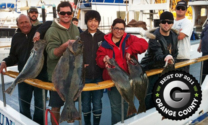 Dana Wharf Sportfishing & Whale Watching - Dana Point: Five- or Nine-Hour Fishing Trip with Meal from Dana Wharf Sportfishing & Whale Watching in Dana Point (Up to 51% Off)