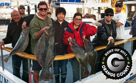 Half-Day Fishing Excursion (a $51 value) - Dana Wharf Sportfishing & Whale Watching in Dana Point