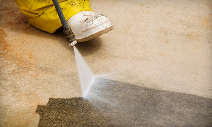 X-treme Clean Mobile Detailing - Birmingham: $50 for a Concrete-Surface Pressure Wash from X-treme Clean Mobile Detailing ($100 Value)