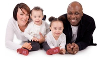 One-Hour Family Photoshoot with 12 Prints at Koosh Photography (93% Off)