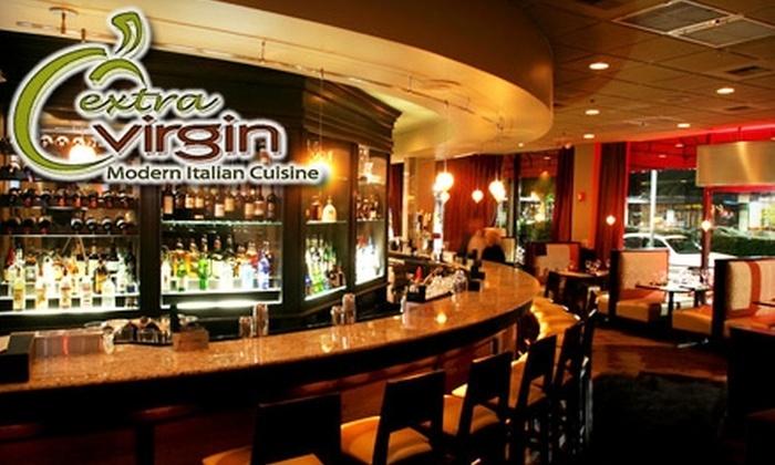 Extra Virgin - Fairlington - Shirlington: $15 for $35 Worth of Modern Italian Cuisine at Extra Virgin in Arlington