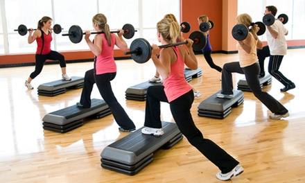 $29 for Six Group Exercise Classes at Healthtrax Fitness & Wellness ($60 Value)