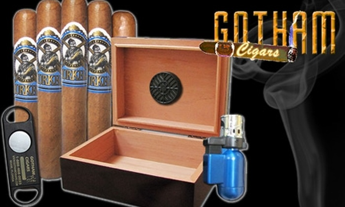 Gotham Cigars - Colorado Springs: $45 for a Cigar Package, Including Shipping, from Gotham Cigars
