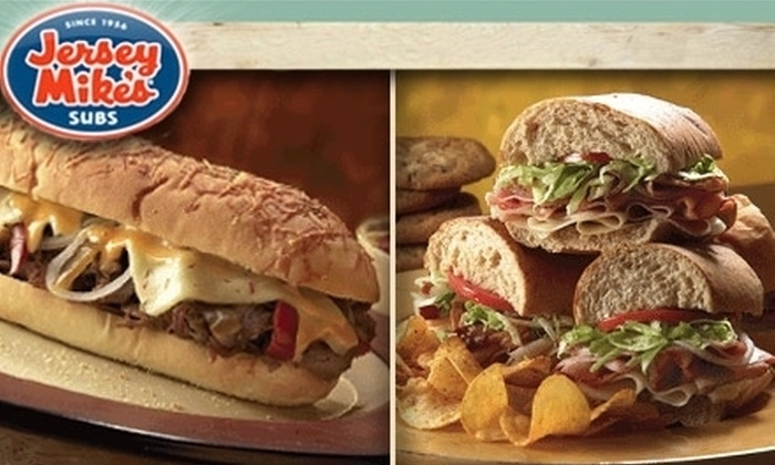 Jersey Mike's Subs - Multiple Locations: $7 for $15 Worth of Sub Sandwiches at Jersey Mike's Subs