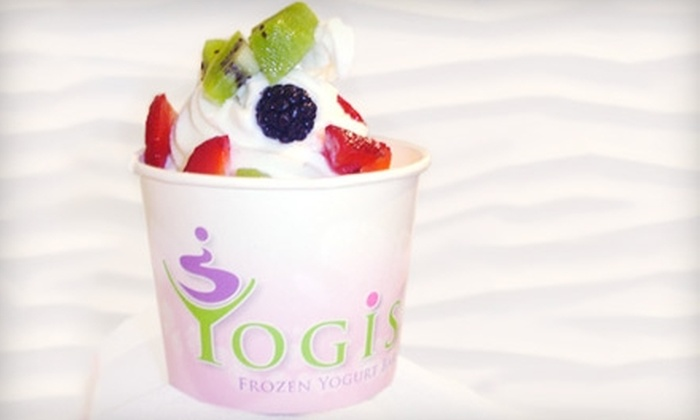 Yogi's Yogurt Bar - Nashville-Davidson metropolitan government (balance): $5 for $10 Worth of Frozen Yogurt and More at Yogi's Yogurt Bar